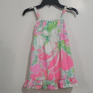 Lilly Pulitzer Dress with Adjustable Strap Sz 5